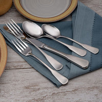 Candra Stainless Flatware 20 Piece Set Made in USA
