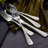 Celtic Stainless Flatware 20 Piece Set Made in USA