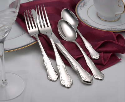 Champlin Flatware Stainless Steel Made in USA 45pc Set