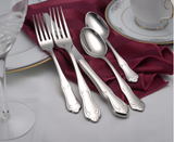 Champlin Flatware Stainless Steel Made in USA 65pc Set
