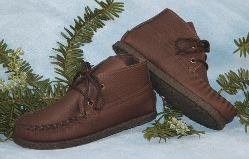 Children's Lace-Up Chukka Boots 1360-NCS Handmade in USA by Footskins