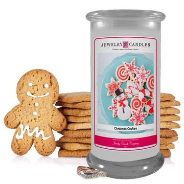 Christmas Cookie Jewelry Candle Made in USA