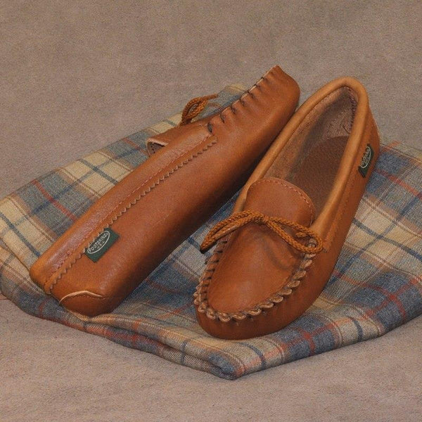 Children's Cowhide Softsole Moccasins Made in USA 1300