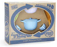 Toy Cookware & Dining Set Made in USA by Green Toys™