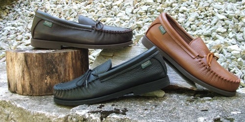 Men's Crepe Sole Shoes Made in US by Footskins