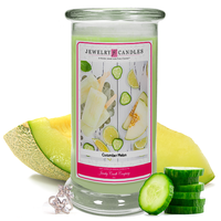 Cucumber Melon Jewelry Candle Made in USA