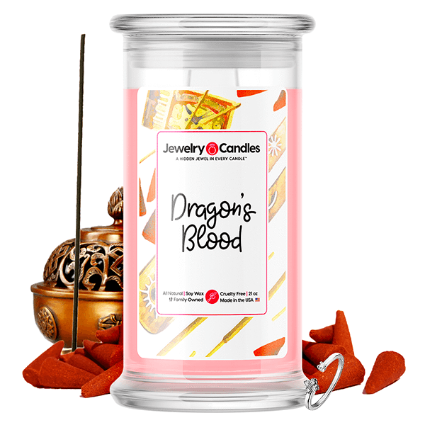 Dragons Blood Jewelry Candle Jewelry Candle Made in USA
