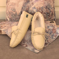 Women's Softsole Sheepskin Slippers Made in America by Footskins 2200S