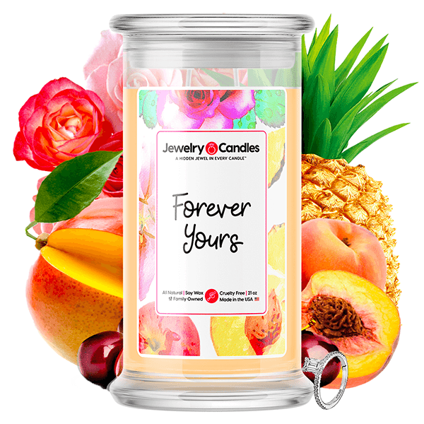 Forever Yours Jewelry Candle Jewelry Candle Made in USA