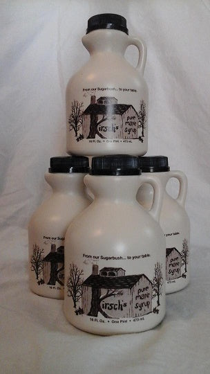 Four Pints of Maple Syrup Made in USA by Kirsch Family Farm