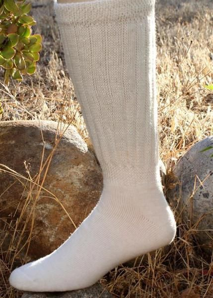 Gentle Touch Therapeutic Alpaca Crew 2-Pack Socks Made in USA