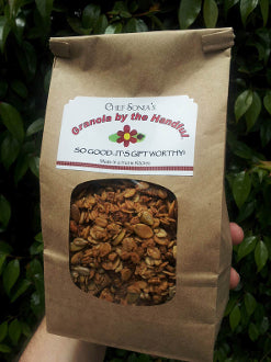 Granola By The Handful 16oz 2-Pack USA Made by Chef Sonia