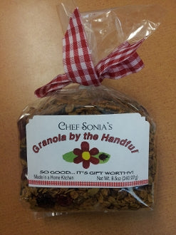 Granola By The Handful 8.5oz 3pk USA Made by Chef Sonia Made in USA