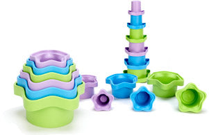 Stacking Cups by Green Toys™ Made in USA