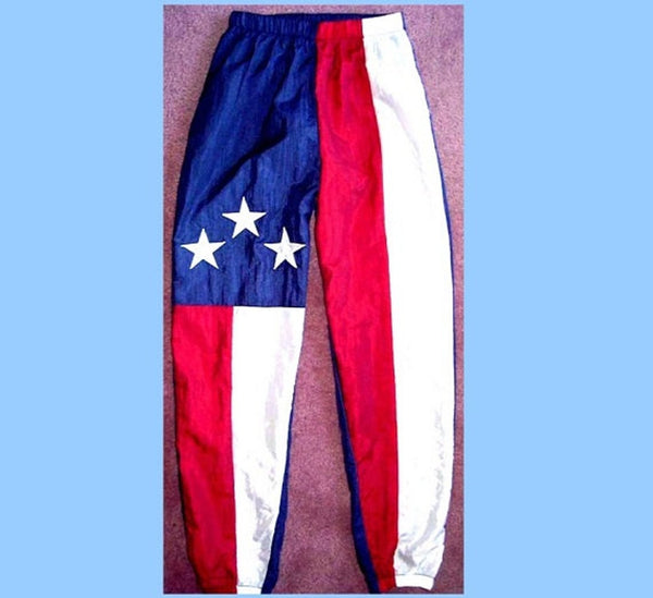 Unisex American Flag Windsports Pants by Stately Made in USA flagwindsportspants