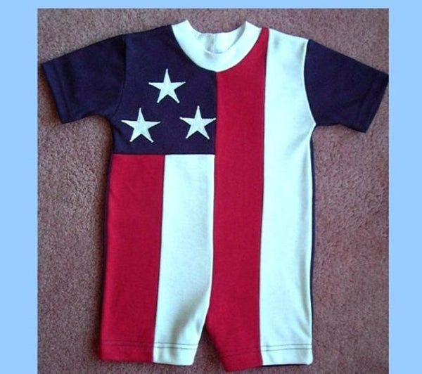 USA Flag Rompers by Stately Made in USA flagrompers
