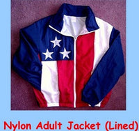 Unisex American Flag Windbreaker Jacket by Stately Made in USA flagwindbreaker
