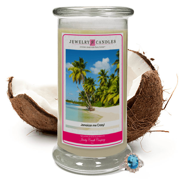 Jamaican Me Crazy! Jewelry Candle Made in USA