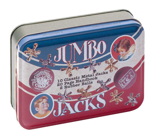 Jumbo Jacks in Classic Toy Tin USA Made