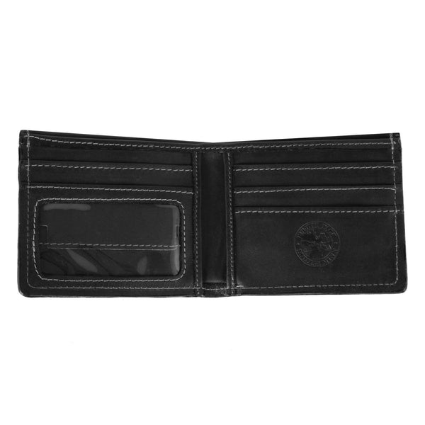 Leather Bi-Fold Wallet Made in USA by Duluth Pack