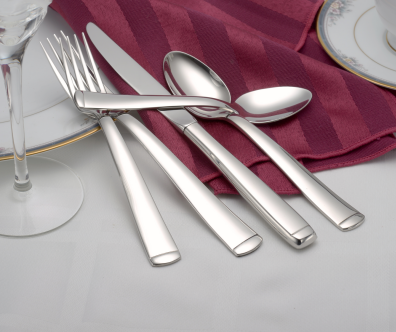 Lexington Flatware Stainless Steel Made in USA 45pc Set