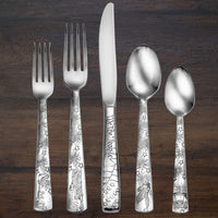 Liberty Stainless Flatware - 45 Piece Set Made in USA