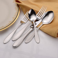 Mallory Flatware Stainless 65pc USA Made by Liberty Tabletop