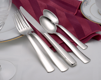 Modern America Flatware Stainless Steel Made in USA 65pc Set
