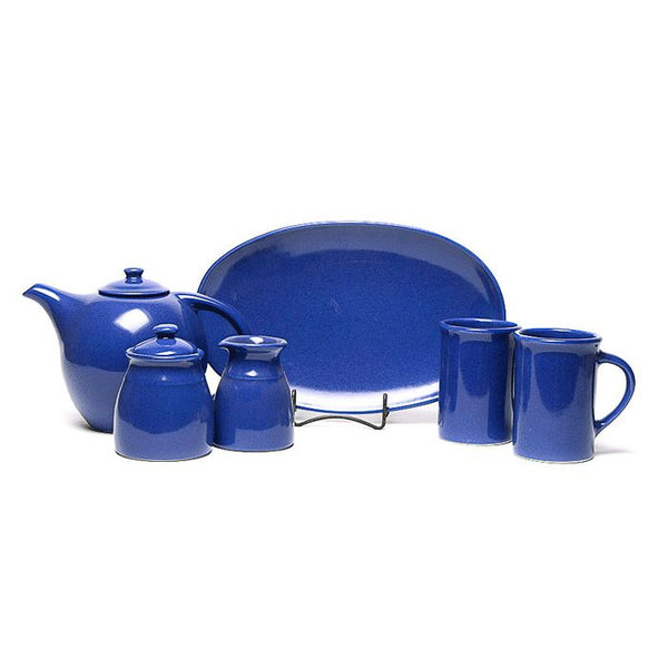 American Blue Tea Set Made in USA