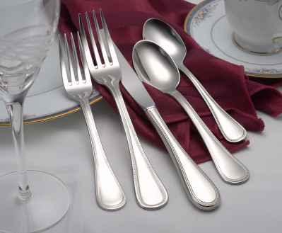 Pearl Flatware Stainless Steel Made in USA 45pc Set