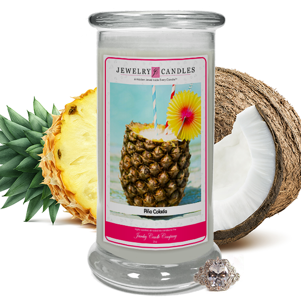 Pina Colada Jewelry Candle Made in USA