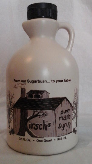 Quart of Maple Syrup Made in USA by Kirsch Family Farm