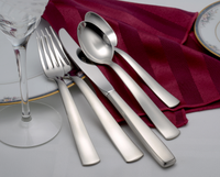Satin America Flatware Stainless Steel Made in USA 20pc Set