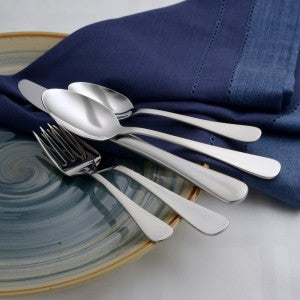 Satin Annapolis Flatware 65pc USA Made by Liberty Tabletop
