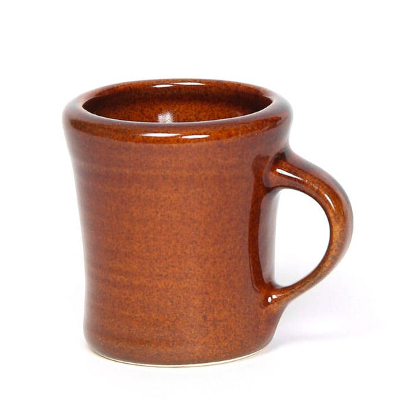 Set of Four Copper Clay Heritage Mugs Made in USA