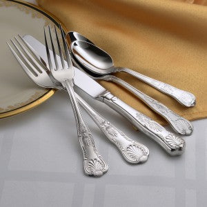 Sheffield Flatware Stainless 45pc USA Made by Liberty Tabletop