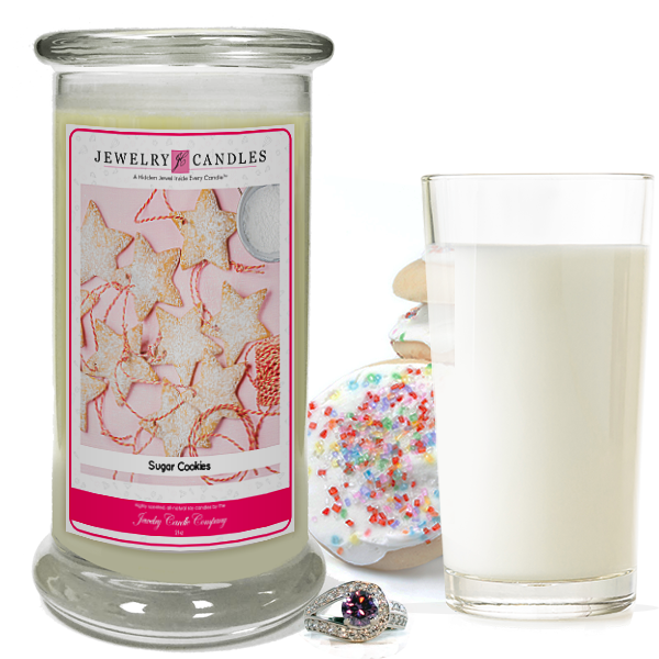 Fresh Sugar Cookies Jewelry Candle Made in USA