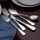 Susanna Stainless Flatware 20 Piece Set Made in USA