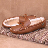 Men's Softsole Sheepskin Slippers Made in USA by Footskin 4400S