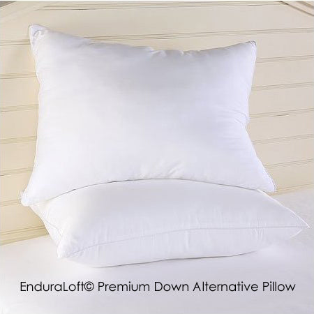 Standard Size Premium EnduraLoft Pillow Made in USA by California Feather Company