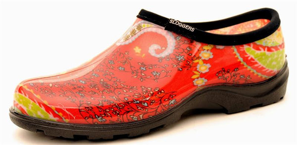 Women's Print Rain and Garden Shoes by Sloggers USA Made