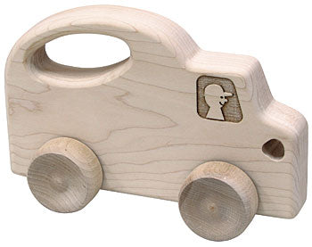 Push N Pull Truck Natural Wood Toy Made in USA by Maple Landmark