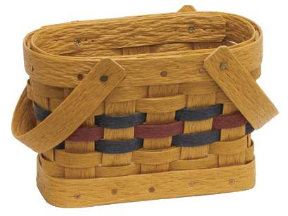 Napkin Basket Made in USA by Krasco #402