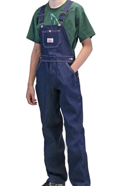 2-Pack Youth Denim Bib Overalls USA Made by ROUND HOUSE® 9