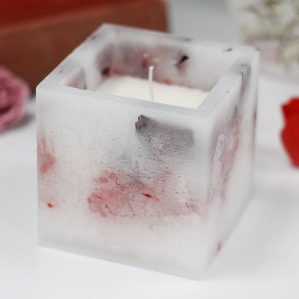 Enchanted Rose Candle- Large
