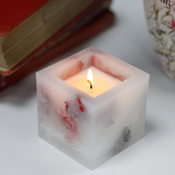 Enchanted Rose Candle- Small