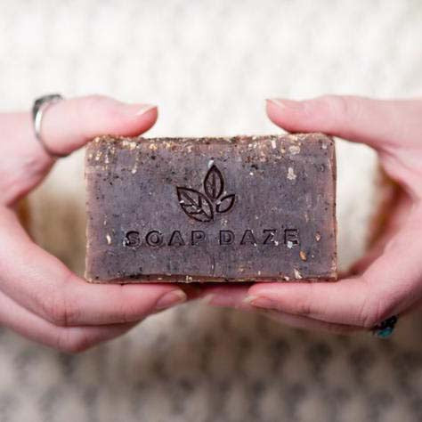 Coffee and Raw Cacao Handmade Natural Vegan Soap