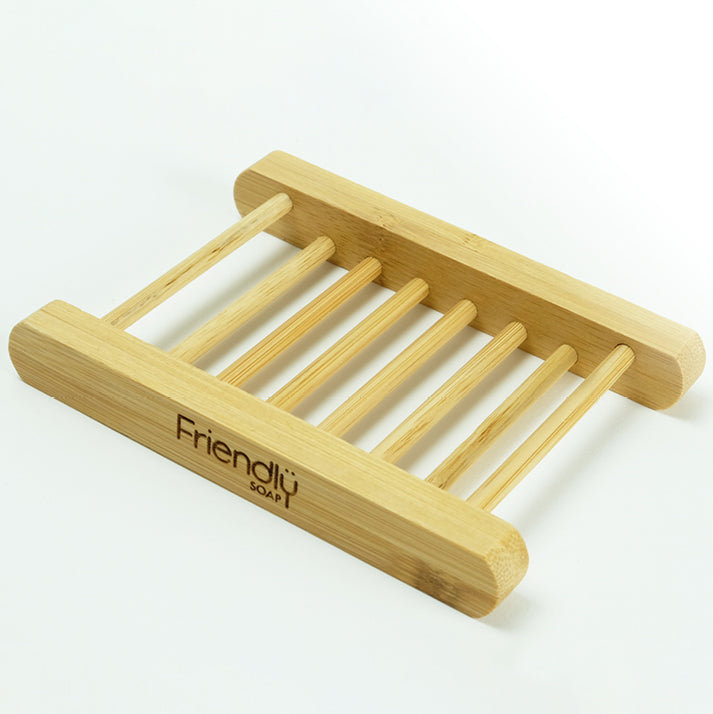 Bamboo Soap Rack