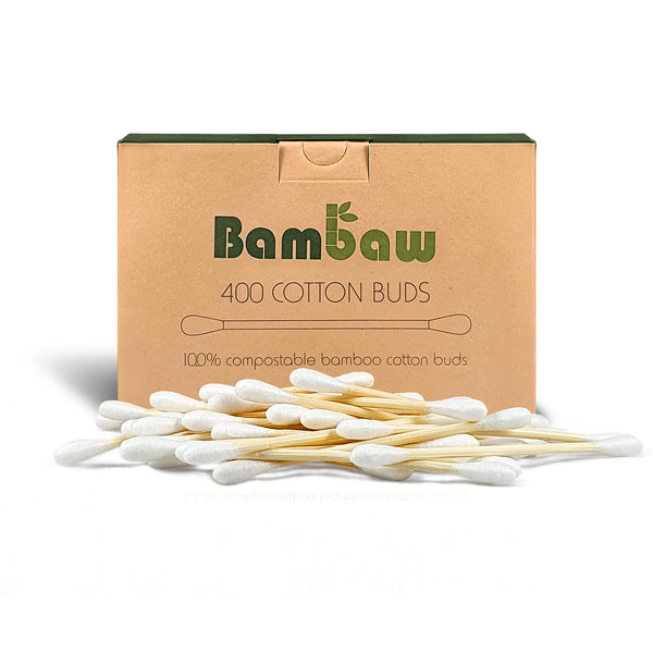 400 Bamboo Cotton Buds
