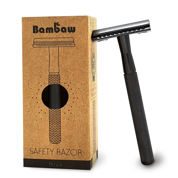 Metal Safety Razor -Black